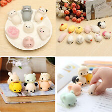 10pcs Lot Squishy Squeeze Slow Rising Fidget KAWAII Cute Mini Animal Hand Toy