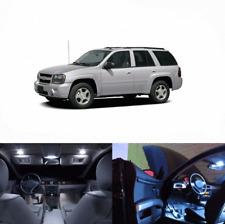 LED White Lights Interior License Kit For Buick Rendezvous 2002-2007 (10 pcs)