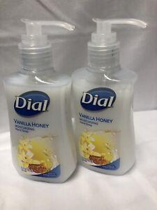 2 Pack Dial Liquid Pump Hand Soap Vanilla Honey Moisturizing Hand Soap 5.5 Oz