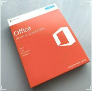 Microsoft Office Home & Student 2016 Word Excel PowerPoint OneNote