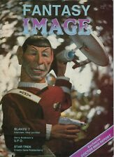 FANTASY IMAGE LOT, 2 issues, 1985, BRITISH Fanzine, INDIE, STAR TREK, DR. WHO