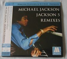 Michael Jackson & Jackson 5 Remixes JAPAN Mini LP CD NEW Hiroshi Fujiwara & KUDO
