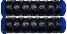 SUZUKI ATV LT LTA LTR LTZ 125 160 185 230 250 400 450 BLUE SKULL GEL HAND GRIPS