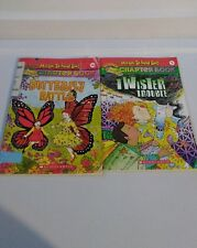 The Magic School Bus Chapter Books Butterfly Battle Twister Trouble