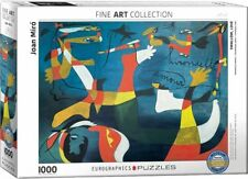 Eurographics Puzzle 1000 Piece Jigsaw Joan Miro Hirondelle Amour 	 EG60000859