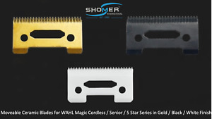 WAHL Ceramic Stagger Tooth Crunch replacement blade Magic Clip/Senior/Five Star