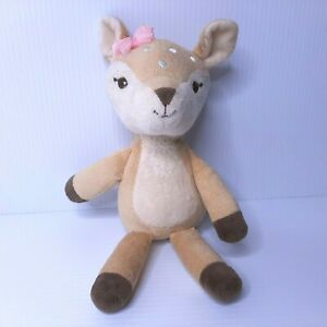 """Hudson Baby Clarice Plush HB 10"""" Rudolph The Red Nose Reindeer Stuffed Animal"""