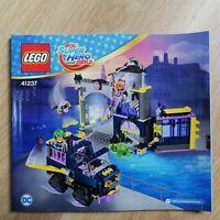 LEGO - BOOKLET ONLY Batgirl Secret Bunker - Super Heroes Girls - 41237