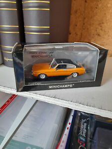 Minichamps 1/43rd Diecast Ford Capri  Flamm Orange  BNIB