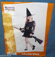 Adorable Witch - by California Costume - girls XS (4-6) - HALLOWEEN - NIP