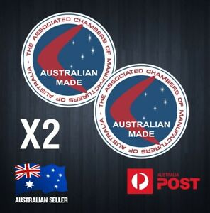 Australian Made Retro Vinyl Sticker Decal Reproduction