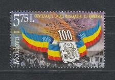 Moldova Moldawien 2018  MNH** Mi.1069 Centenary of Union of Bessarabia