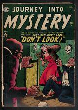 Atlas 2  MARVEL Comics 2.0 Journey into mystery 1952 G  Don't Look !!