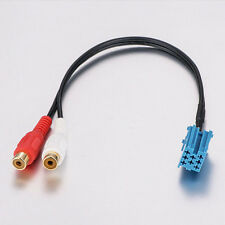 Auto Mini Iso Adapter 8pin Aux Input Rca Caleb for Vw Blaupunkt Cd Models