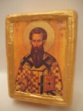 Saint Basil Basile Vasili Christianity Greek Eastern Orthodox Religious Icon art