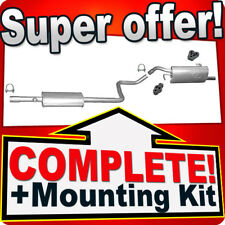 Mitsubishi Colt 1.1 1.3 5- doors since 2004 Silencer Exhaust System B78