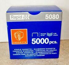 """Rapid 5080 Staple Refill Cassette 13/32"""" Cartridge Of 5000"""