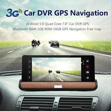 "1080P 7 ""Auto Konsol Android 5.0 Dash Cam Kamera DVR GPS Bluetooth Navigation"