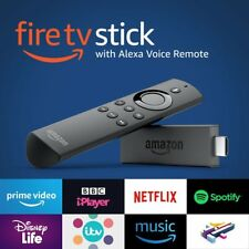 2ND GEN - Fire TV Stick with Alexa Voice Remote - Streaming Media Player