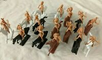 Western Cowboy Native American Indian Plastic Apache Sioux Cavalry Lot 54mm 1/32