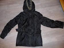 parka manteau veste noir taille 38 / 40 NEUF