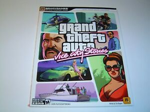 GRAND THEFT AUTO VICE CITY STORIES STRATEGY GUIDE -Read Description- BRAND NEW*