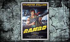 Original Movie Poster Rambo 100x140 cm - Sylvester Stallone