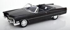1:18 KK-Scale Cadillac DeVille Convertible 1967 black