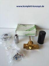 Seppelfricke Wandeinbauventil mit Dreisterngriff K+W 18 mm verchromt Nr 2713