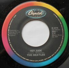 THE BEATLES Hey Jude / Revolution NM- CANADA 1983 CAPITOL Reissue RAINBOW 45