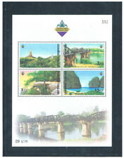 THAILAND 2003 Tourist Attractions S/S CV $ 4.50