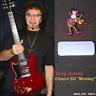 Tony Iommi stickers decal Gibson SG Monkey Custom guitar plus vinyl autograph