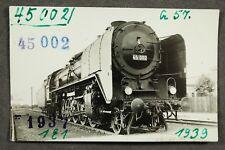 Foto AK Dampflok 45 002 Hersteller Henschel / AK 16
