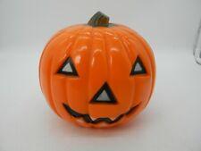 Vintage Union Products Halloween Hard Plastic Pumpkin Lamp Cover Jack-O-Lantern