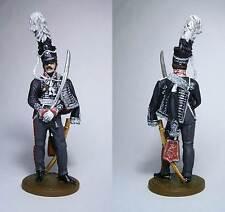 PEINT!  Officier prussien du 1er régiment de hussards de la garde, 1812 / 54mm