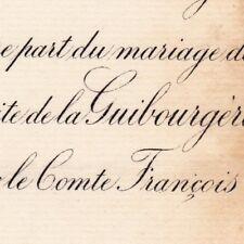 Marguerite Chantal Claire Camus De La Guibourgère 1881 François De Chanterac