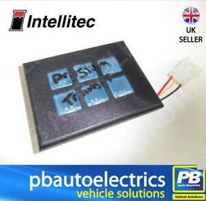 Intellitec 874 Programmable Switch Panel 6 Way 12v Yel/Grn Bright - 00-00874-006