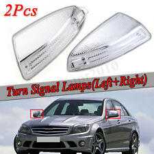 2x Door Mirror Turn Signal Light For Mercedes W204 W639 C300 C350 ML Class W164