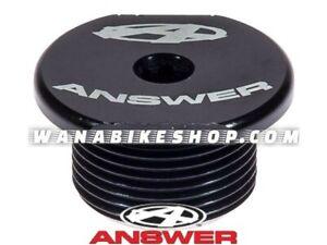 ANSWER BMX EXPERT DAGGER TOP CAP BLACK