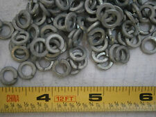 Split Lock Washers #12 Medium Steel Zinc Plated Lot of 100 #2325