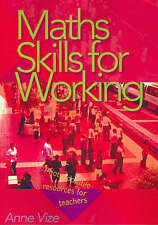 Maths Skills for Working by Anne Vize Blackline Masters / Worksheets
