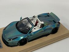 1/18 Ferrari 458 Liberty Walk LB Performance in Magic Green  N BBR or MR