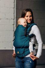 Ergonomic baby carrier Lennylamb LennyUpGrade TANZANITE