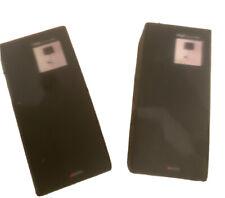 Astro Lloyd Chrome 0920 (black) Fixed Wall Lights (pair)