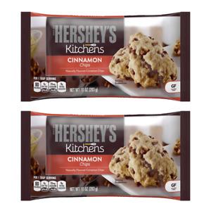 2 Bags Hershey's Cinnamon Baking Chips 10 oz. each Best Before 05/2022