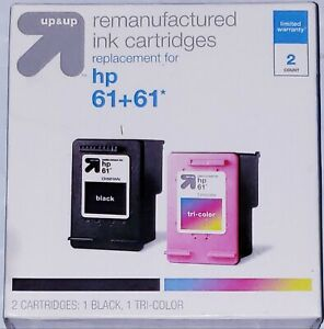 [NEW] Remanufactured Ink Cartridges HP 61+61 UP&UP