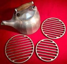 Griswold Cast Aluminum 5 qt Tea Kettle * Flat *