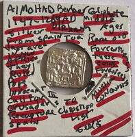 ALMOHAD CALIPHATE 1147-1264 AD  SILVER DIRHAM ISLAMIC EMPIRE  NW AFRICA--SPAN #1