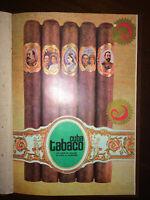 1973 Antilles Cigars & Tobacco ~ Rare Vintage MAGAZINE TABACO Revista Tabacalera