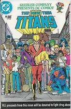 New Teen Titans reissue of Keebler Co. giveaway (1983) VF Bronze Age DC ID#1161
